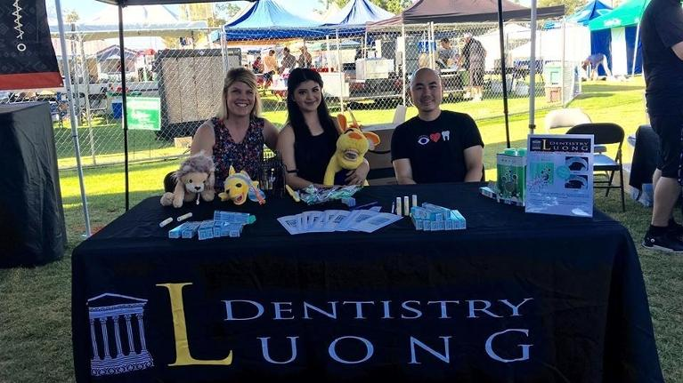 The Luong Dental Team At The Cypress Festival | Los Alamitos Dentist